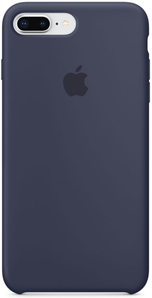 Apple Silicone Case чехол для iPhone 7 Plus/8 Plus, Midnight Blue панель кожаная apple для iphone 8 plus 7 plus midnight blue