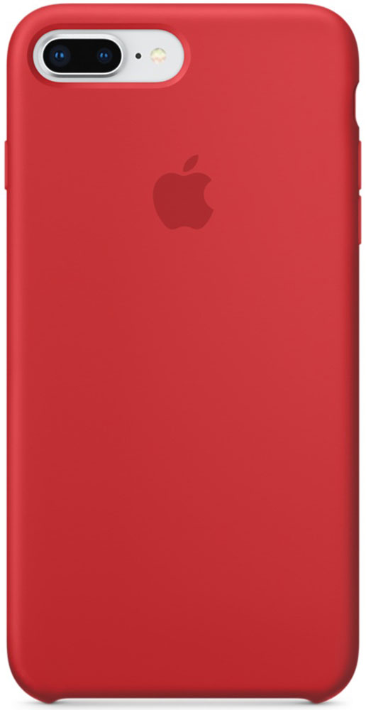 Apple Silicone Case чехол для iPhone 7 Plus/8 Plus, Product Red