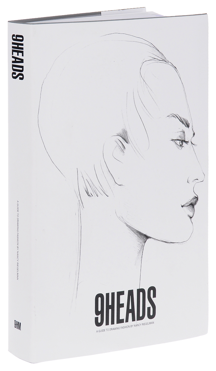 9 Heads: A Guide to Drawing Fashion fashion details 4000 drawings