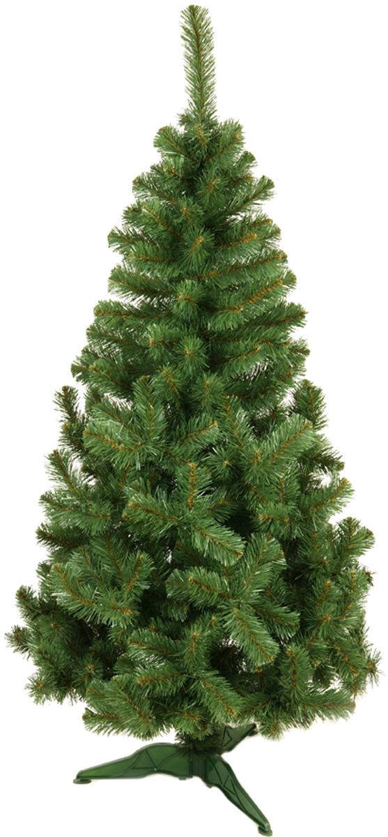 Ель искусственная Morozco Сибирская, цвет: зеленый, высота 1,5 м ель искусственная morozco настольная цвет серебристый высота 30 см
