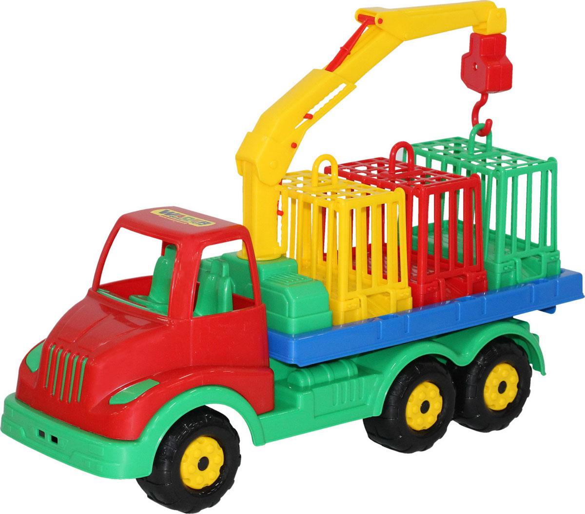 Полесье Автомобиль для перевозки зверей Муромец, цвет в ассортименте