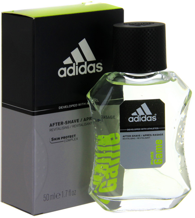 Adidas Лосьон после бритья Pure Game After Shave Lotion, 50 мл лосьон после бритья adidas adidas ad002lmcrve1
