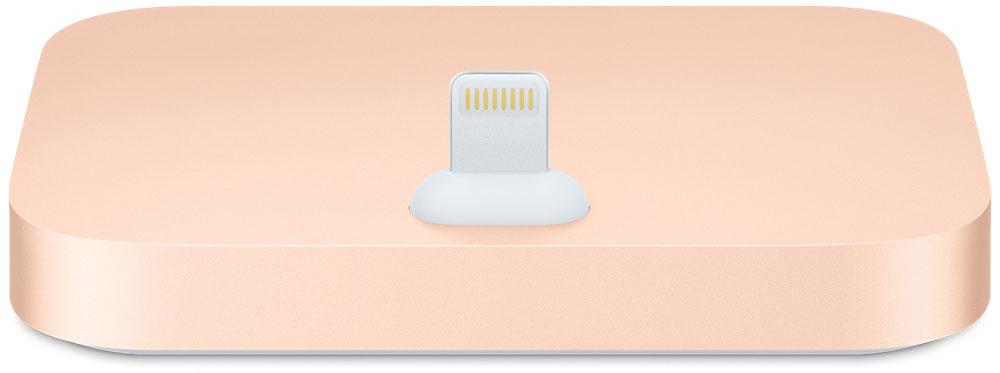 Apple iPhone Lightning Dock, Gold док-станция (MQHX2ZM/A) док станции usb c universal dock к zenbook 3 купить