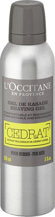 """L'Occitane Гель для бритья """"Cedrat"""" 150 мл"""