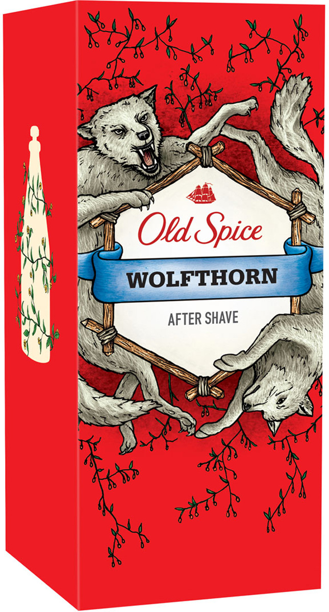 Лосьон после бритья Old Spice Wolfthorn, 100 мл пена для бритья old spice