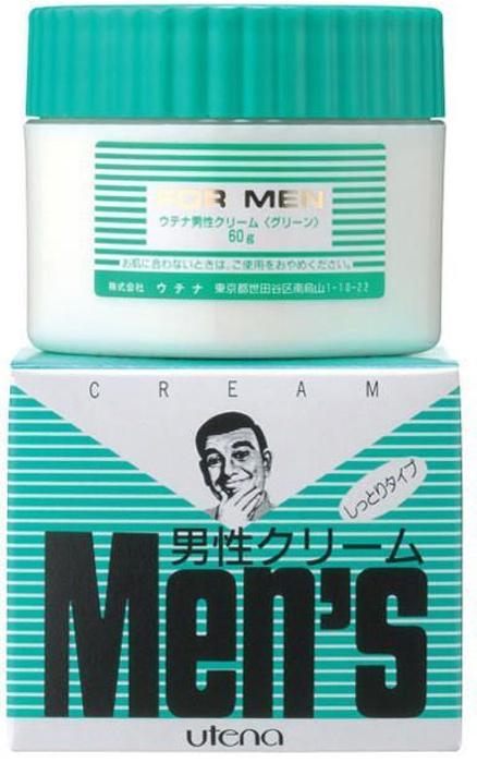 """Utena Увлажняющий крем """"Men's"""" после бритья для сухой и чувствительной кожи с хлорофилом 60гр"""