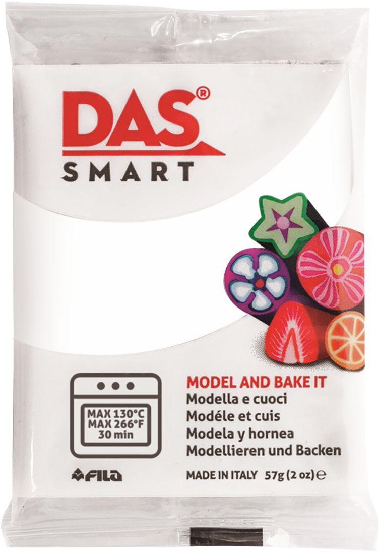 DasПолимерная паста для моделирования Smart цвет белый 57 г Das