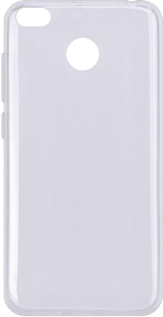 Interstep Is Slender чехол для Xiaomi RedMi 4X, Transparent клип кейс interstep slender для xiaomi redmi 3 прозрачный