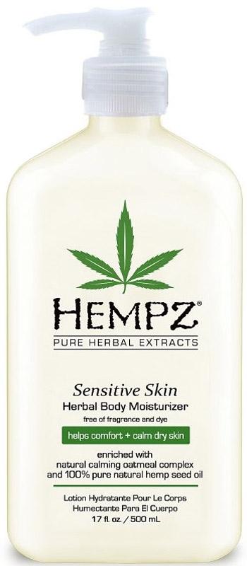 все цены на Hempz Sensitive Skin Herbal Moisturizer Молочко для тела увлажняющее, чувствительная кожа, 500 мл онлайн