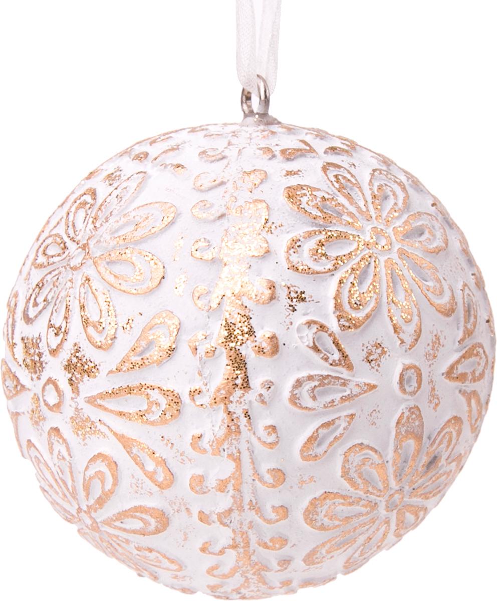 """Украшение новогоднее подвесное Magic Time """"Золотое кружево"""""""