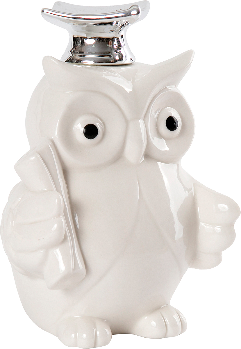Фигурка декоративная Magic Home, цвет: белый, серый металлик, 11,5 х 10 х 16 см декоративная фигурка magic home декоративная фигурка