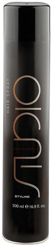 Kapous Professional Studio Лак для волос сильной фиксации, 500 мл kapous professional matt wax матовый воск для укладки волос сильной фиксации 100 мл