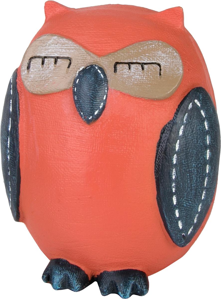 Копилка декоративная Magic Home Совушка, цвет: оранжевый, синий, 10,5 х 9 х 12 см вешалка крючок magic home двойной цвет оранжевый 43887