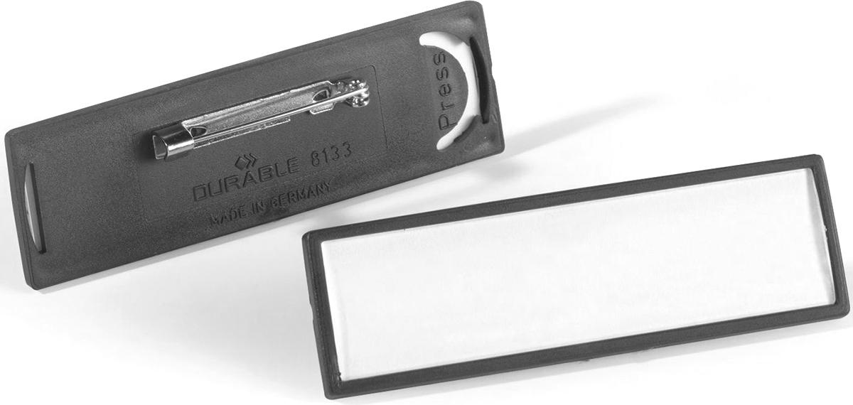 Durable Бейдж горизонтальный на булавке durable бейдж 8135 19