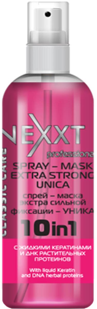 Спрей-маска экстра сильной фиксации Уника Nexxt Professional, 250 мл