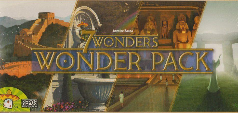 Asmodee Настольная игра 7 Чудес Новые чудеса Wonder Pack