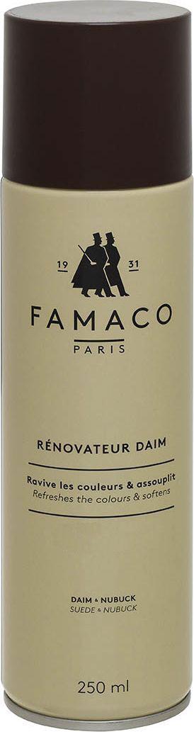 AEROSOL DAIM 250 ML FAMACO NOIR , Восстановитель цвета для замши, FAMACO, черный, 250 мл шнурки famaco