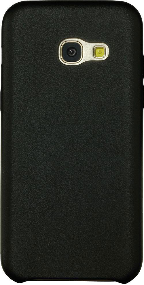 Накладка G-Case Slim Premium для Samsung Galaxy A3 (2017) SM-A320F черная золотой slim robot armor kickstand ударопрочный жесткий корпус из прочной резины для samsung galaxy a3 2017 a320