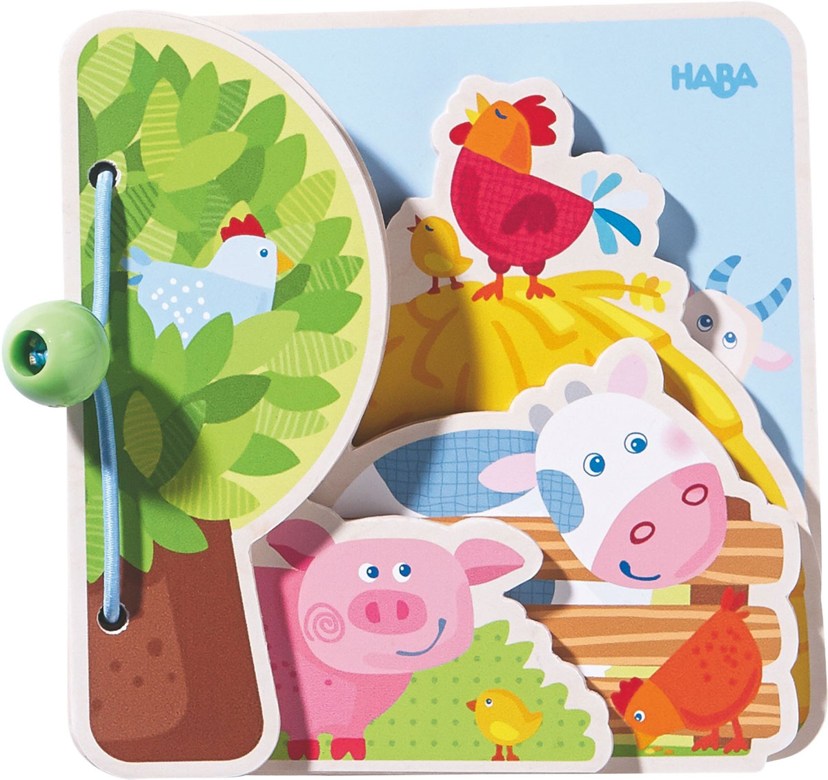 цена на Haba Детская книга Друзья на ферме