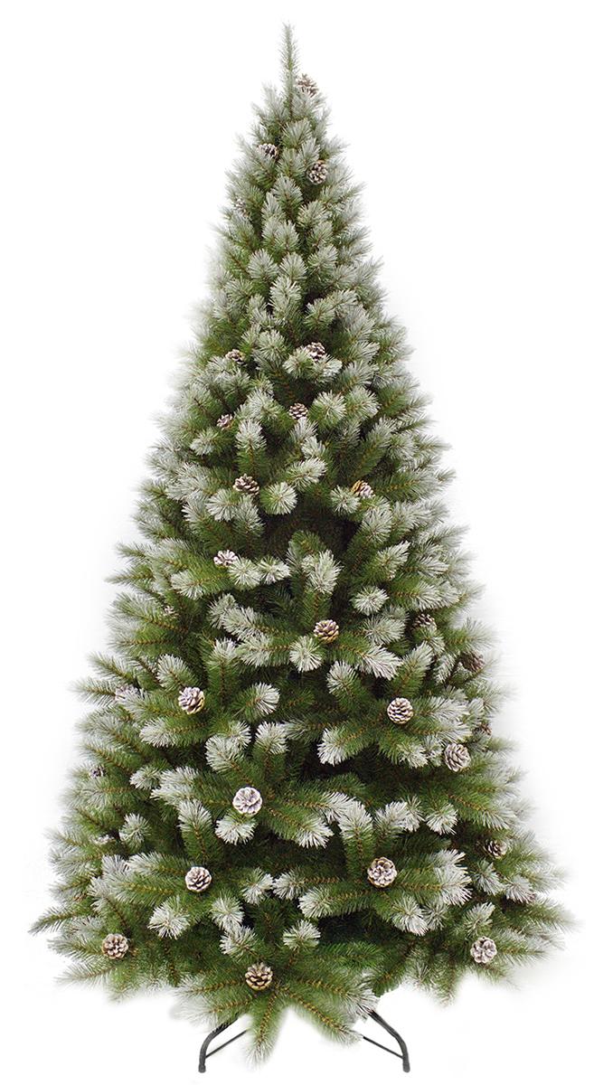 Ель искусственная Triumph Tree Женева, с шишками, цвет: зеленый, высота 185 см цена