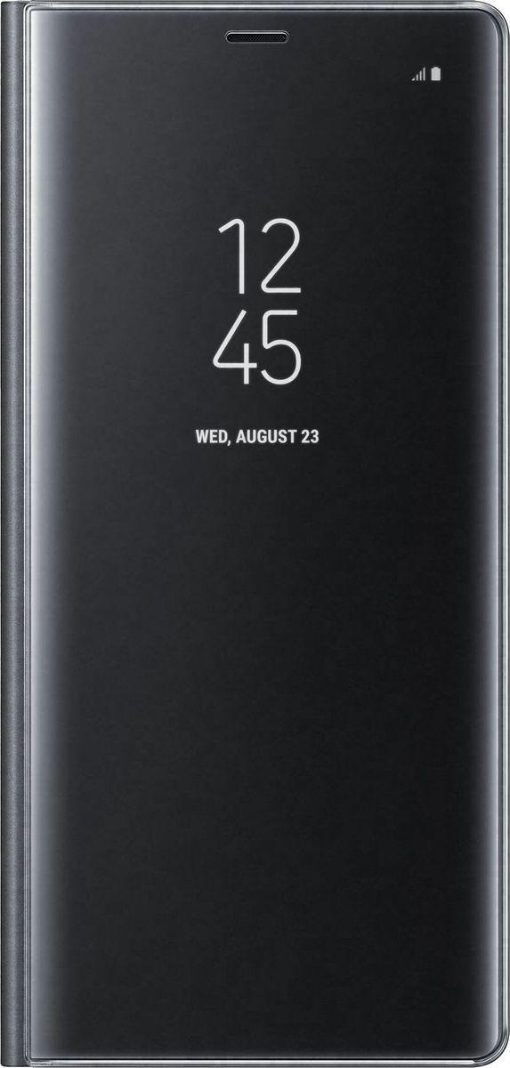 Samsung Clear View Standing Cover Great чехол-книжка для Galaxy Note 8, Black скачать обои для samsung