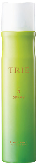 Lebel Trie Spray 5 Спрей-воск легкой фиксации, 170 г lebel cosmetics trie powdery spray 5 спрей пудра с матирующим эффектом 170 г