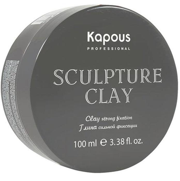 Kapous Professional Sculpture Clay Глина для укладки волос нормальной фиксации, 100 мл kapous professional sculpture clay глина для укладки волос нормальной фиксации 100 мл