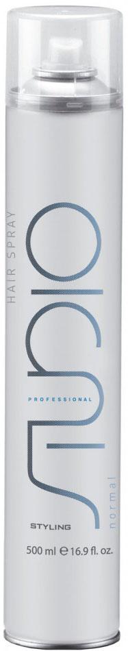Kapous Professional Studio Лак для волос нормальной фиксации, 500 мл лак для волос нормальной фиксации set it