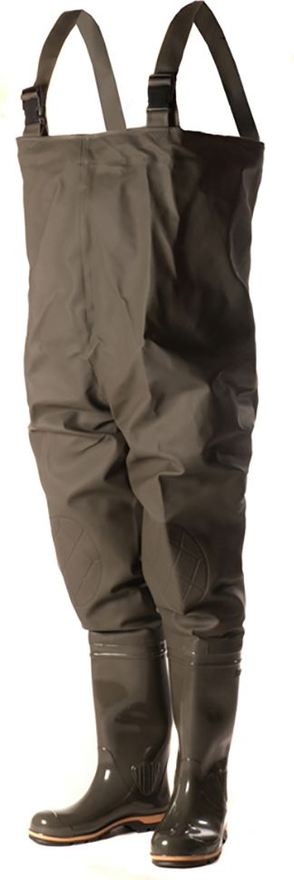 Полукомбинезон рыбацкий Nordman, цвет: оливковый. ПС 15 ПК. Размер 40