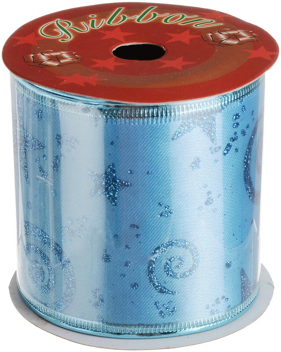 Лента новогодняя Magic Time Звездопад, 6,3 х 270 см лента голубой звездопад magic home лента голубой звездопад