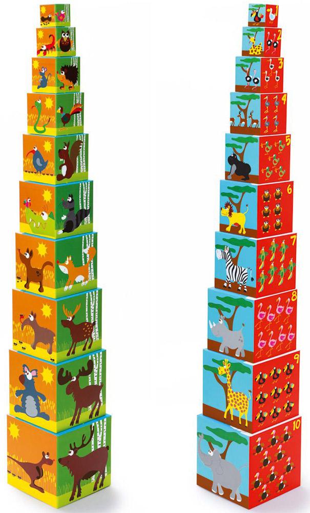 Scratch Кубики Stacking Tower Животные кубики scratch giant stacking tower farm от 3 лет 5 шт