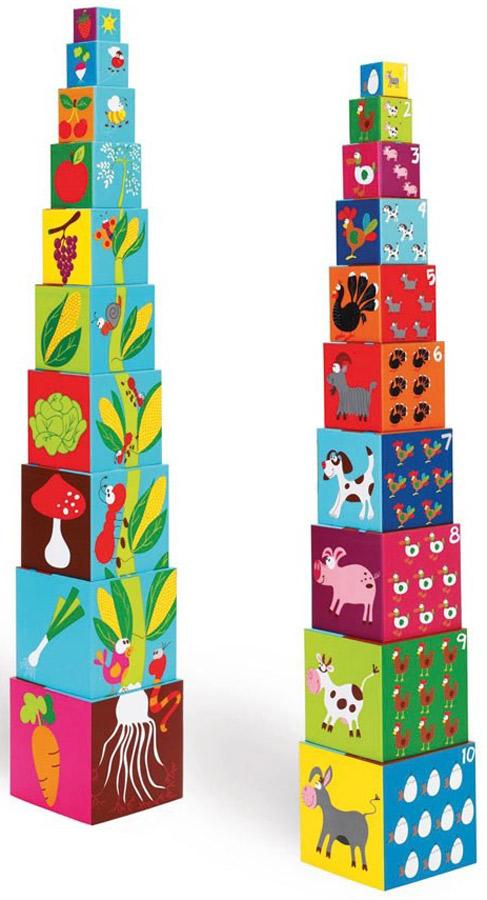 Scratch Кубики Stacking Tower Ферма 6181030