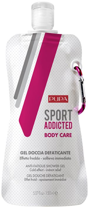 Pupa Гель для душа Sport Addicted Anti-Fatigue Shower Gel, 150 мл