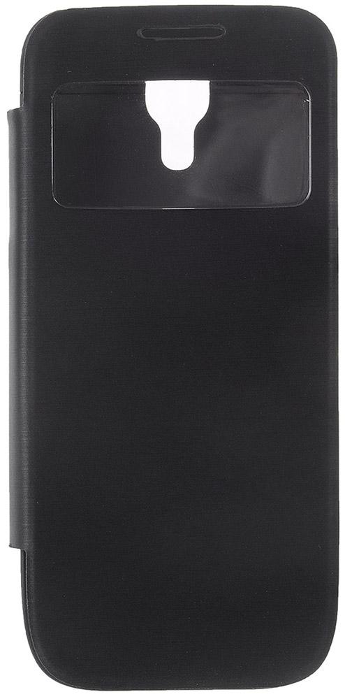 EXEQ HelpinG-SF04 чехол-аккумулятор для Samsung Galaxy S4 mini, Black (2200 мАч, флип-кейс)