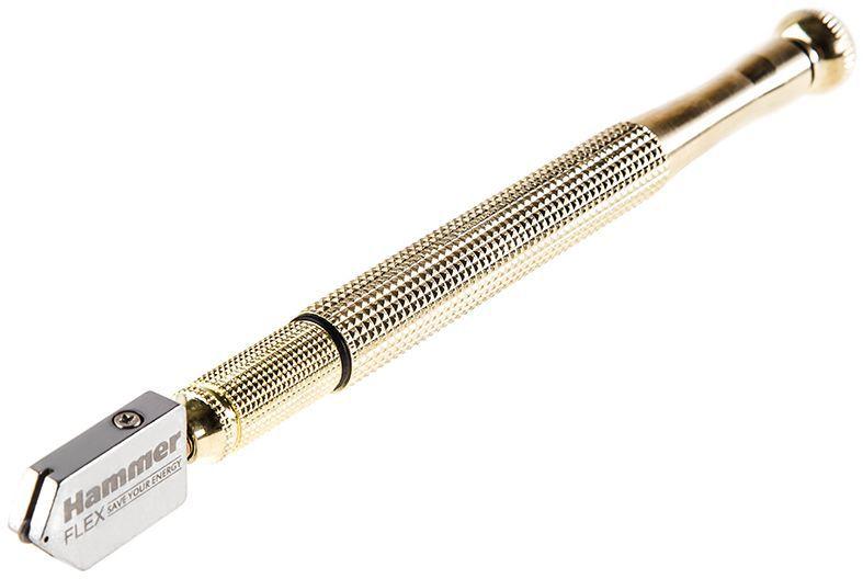 Стеклорез масляный Hammer Flex 601-028, толщина реза 3-8 мм, длина 175 мм рюкзак hammer flex 235 028 для пилы ушм 410х520х110мм