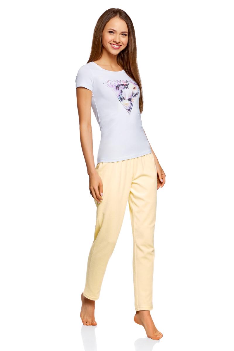 Брюки для дома oodji брюки женские oodji цвет светло серый меланж 16701010b 46980 2000m размер m 46