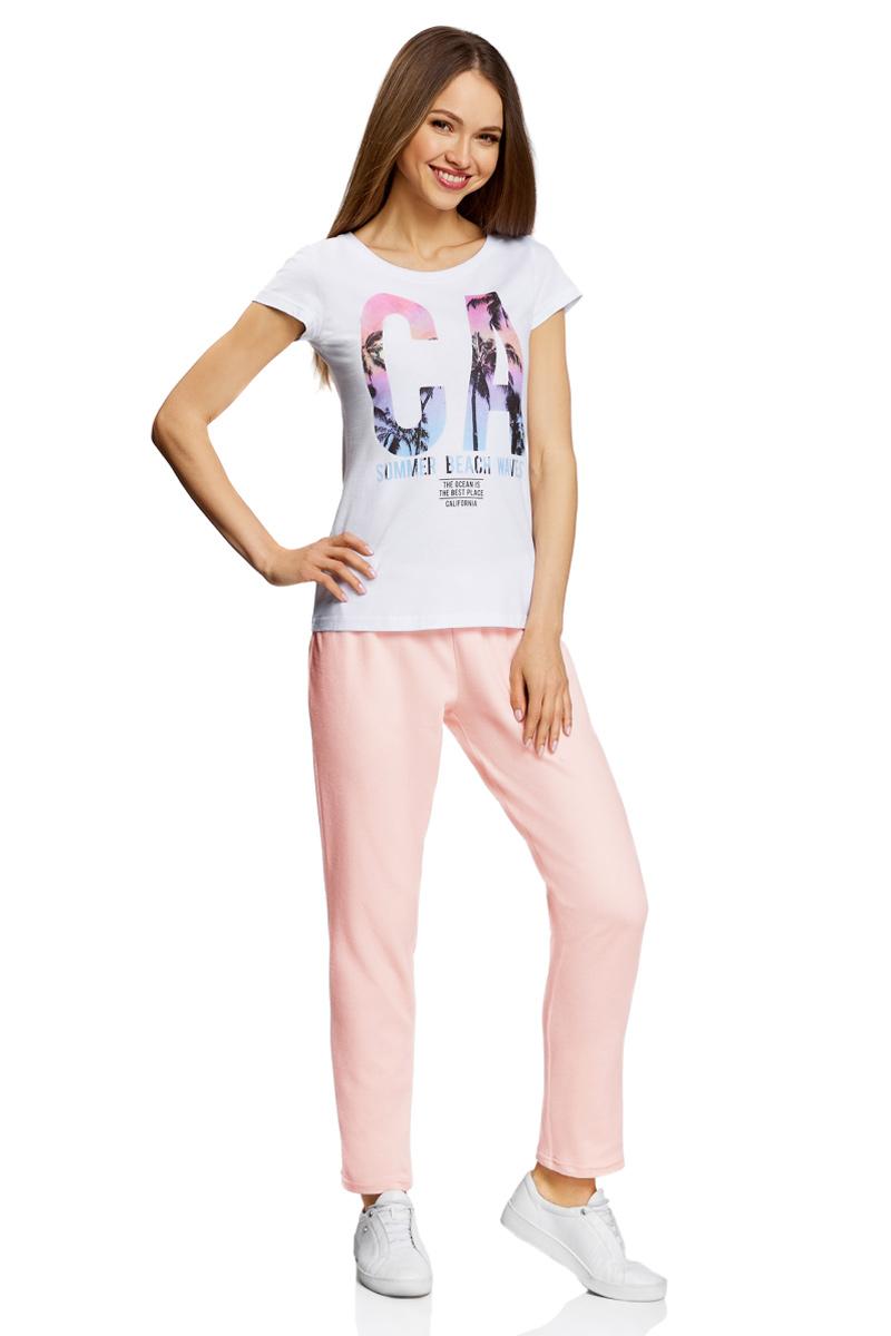 Брюки для дома oodji Ultra брюки женские oodji ultra цвет черный 18702004 37854 2900n размер xxs 40