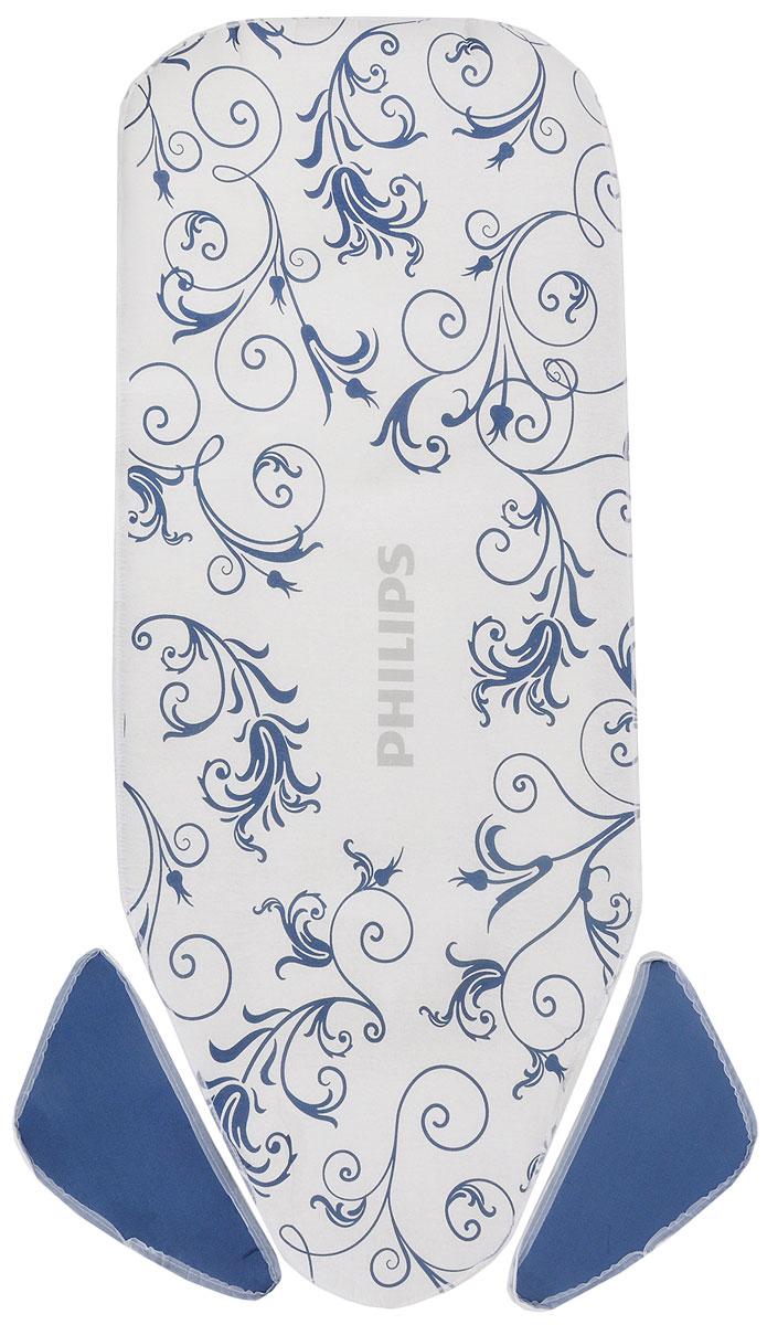 Philips GC020/00 сменный чехол для гладильной доски Easy8 GC240/25 гладильная доска philips easy8 gc260