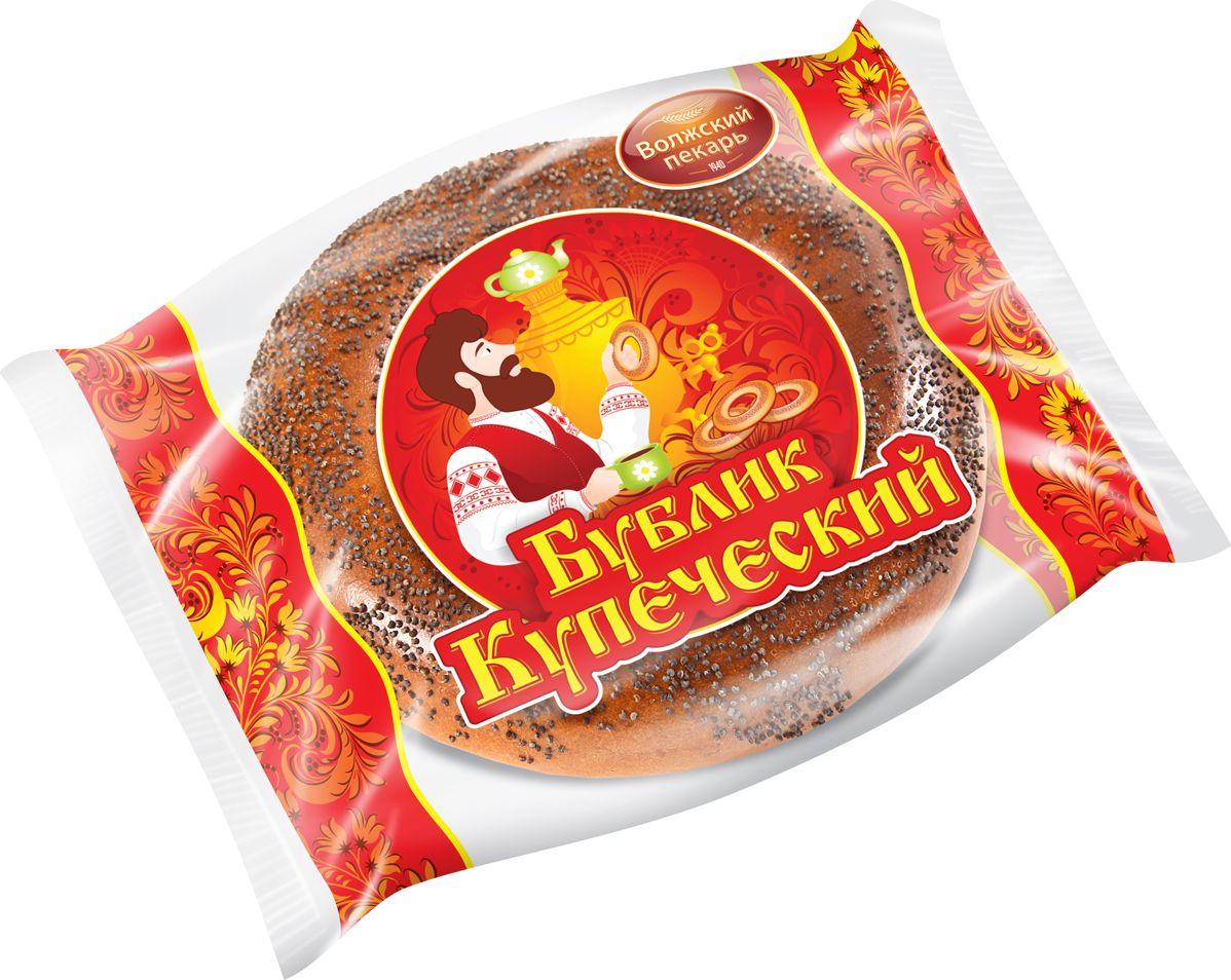 Волжский Пекарь Бублик Купеческий с маком, 100 г волжский пекарь баранки волжские горчичные 500 г