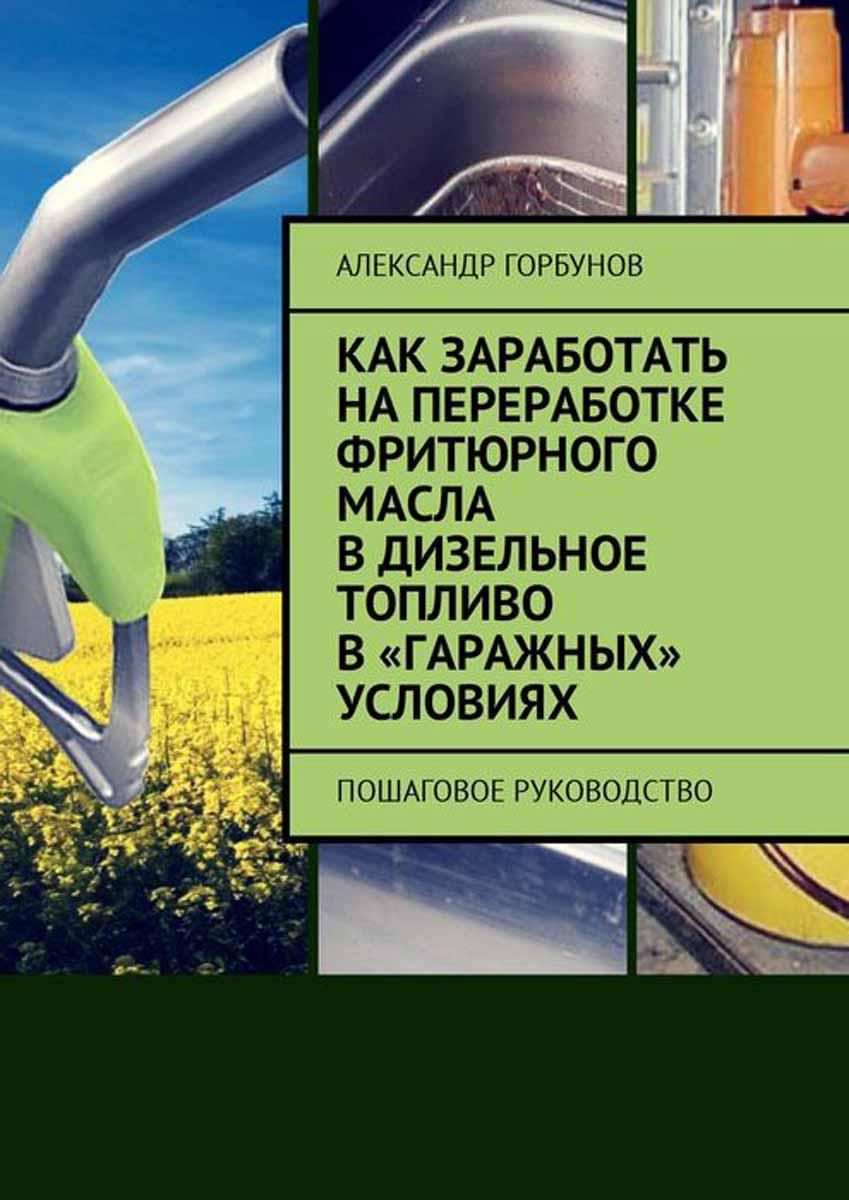 Горбунов Александр Как заработать на переработке фритюрного масла в дизельное топливо в «гаражных» условиях. Пошаговое руководство матвей северянин как заработать на youtube пошаговое руководство