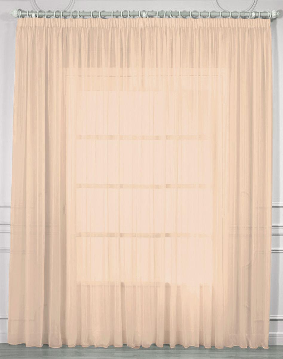Тюль Amore Mio, на ленте, цвет: розовый, высота 270 см. RR 2038 цена