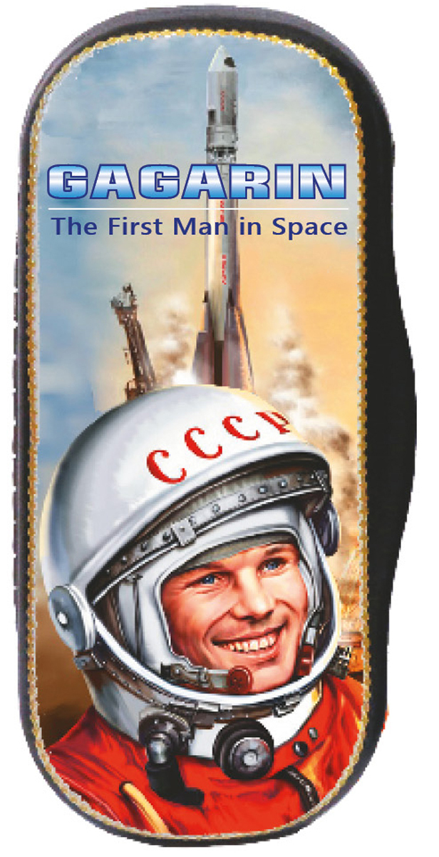 Кремлина Гагарин конфеты вишня в шоколаде в футляре для очков, 40 г кремлина зимние катания конфеты вишня в шоколадной глазури в футляре для очков 40 г