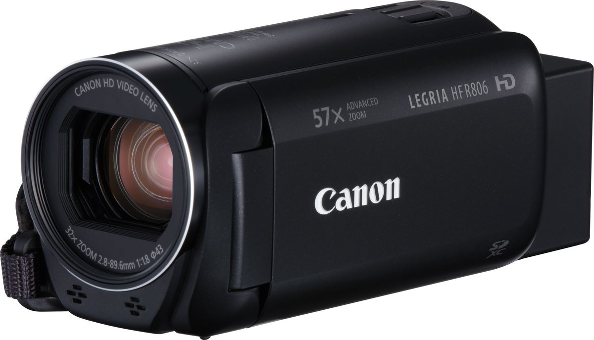 Фото - Видеокамера Canon LEGRIA HF R806, Black видео