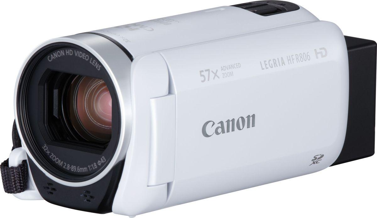 Фото - Видеокамера Canon LEGRIA HF R806, White видео