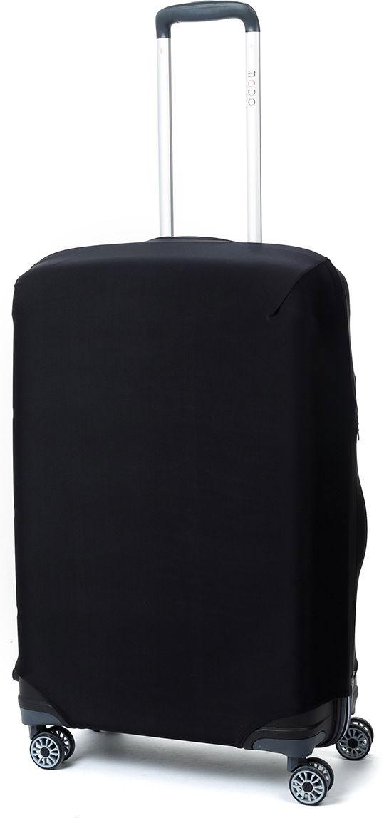 Чехол для чемодана Mettle Dark, цвет: черный. Размер M (высота чемодана: 65-75 см) чехол для чемодана mettle творческо размер m высота чемодана 55 70 см