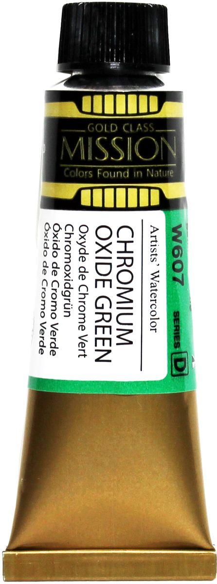 Mijello Акварель Mission Gold цвет W607 окись хрома 15 мл MWC-W607
