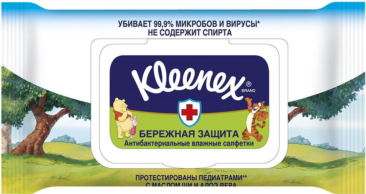Kleenex Влажные салфетки Дисней, 40 шт салфетки влажные kleenex бережная защита не содержит спирта влажная гипоаллергенные 10 шт 9440215