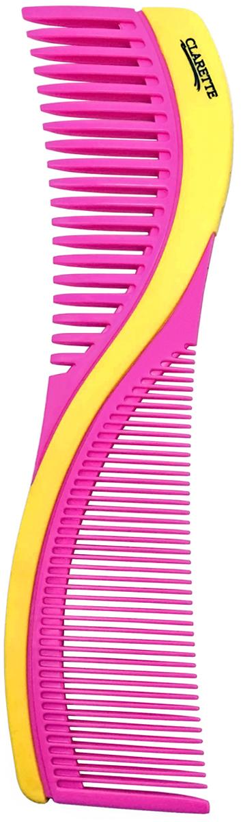 Clarette Расческа для волос двухсторонняя. CPB 722 clarette расческа комбинированная clarette