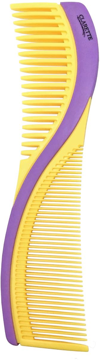 Clarette Расческа для волос двухсторонняя. CPB 723 clarette расческа комбинированная clarette