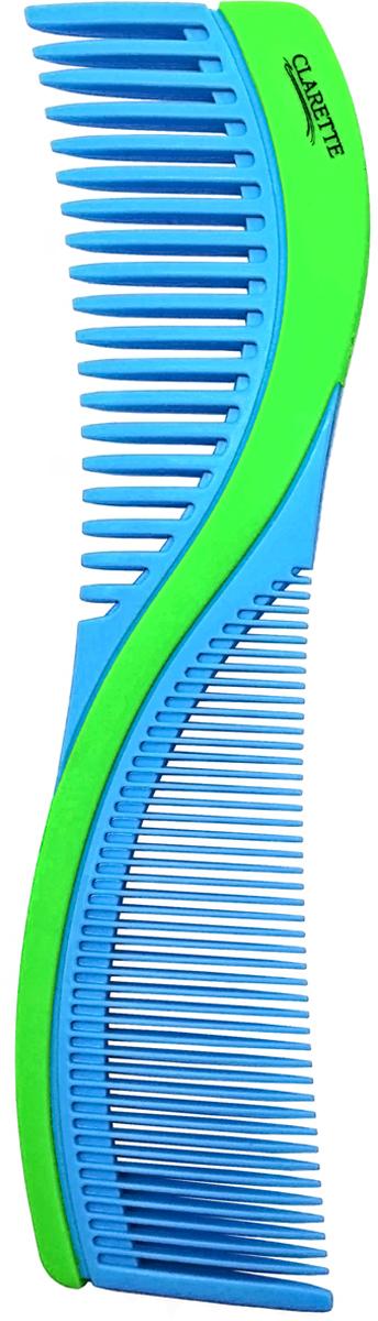 Clarette Расческа для волос двухсторонняя. CPB 724 clarette расческа комбинированная clarette